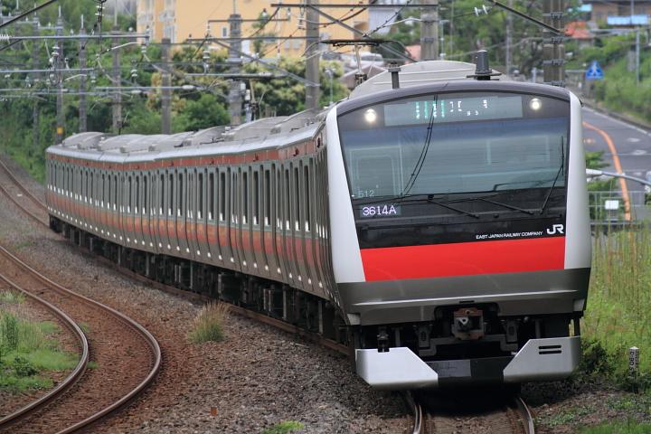 E233系ケヨ512編成 外房線(誉田~鎌取)